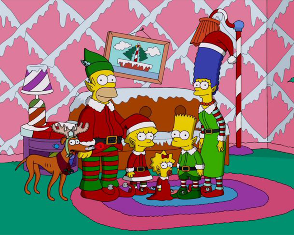 Simpsons Holiday